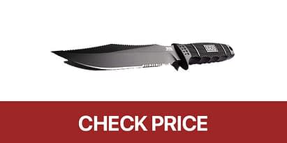 4- SOG Fixed Blade Knives with Sheath