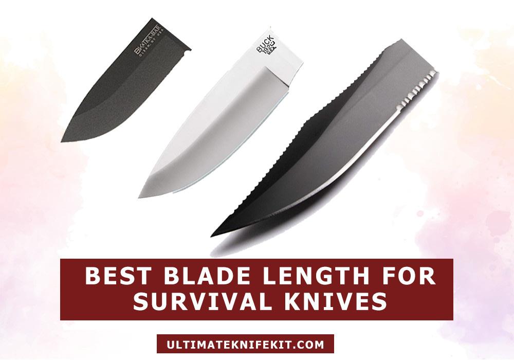 Best blade length for survival knife